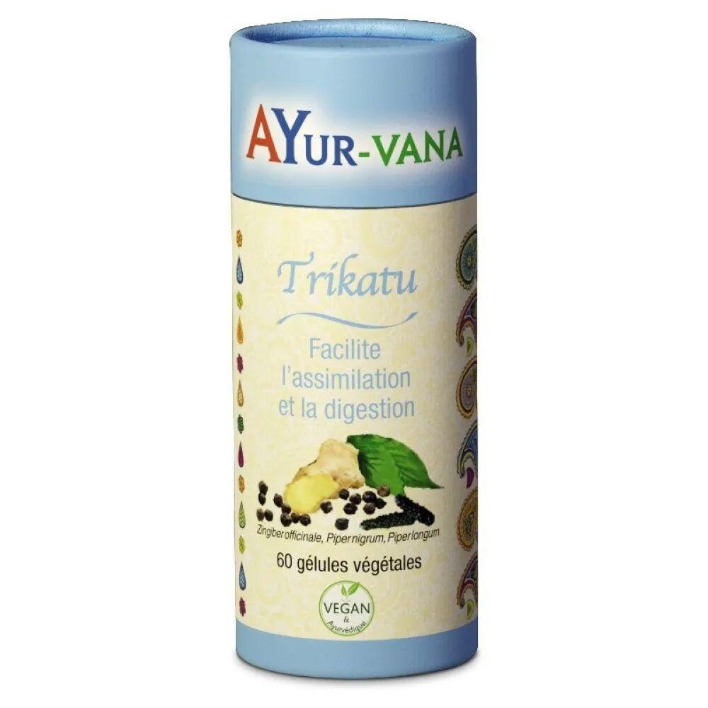 Ayur-vana Trikatu - Digestion 60 gélules - Ayur-Vana