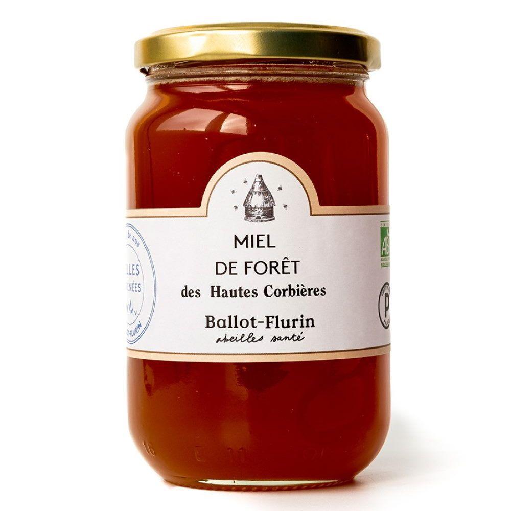 Ballot-Flurin Miel de Forêt Bio 480g - Parfum polyfloral - Ballot-Flurin