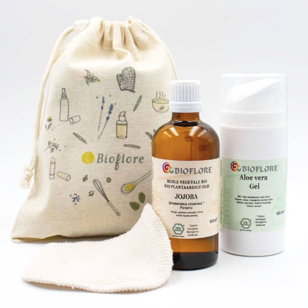 Bioflore Kit routine visage slow Bio - Jojoba et Aloe vera - Bioflore