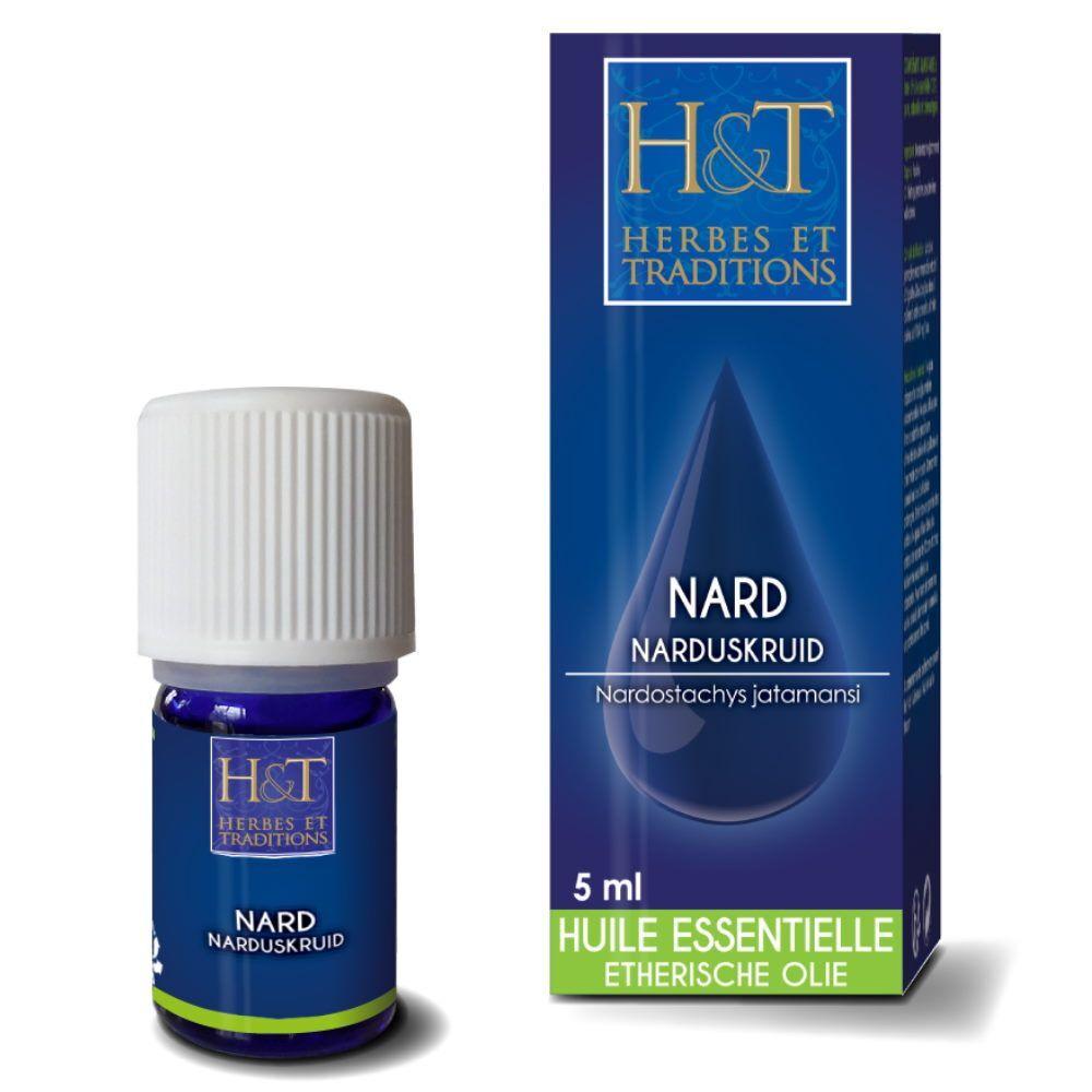 Herbes et Traditions Nard - Huile essentielle de Nardostachys jatamansi 5 ml - Herbes et Traditions