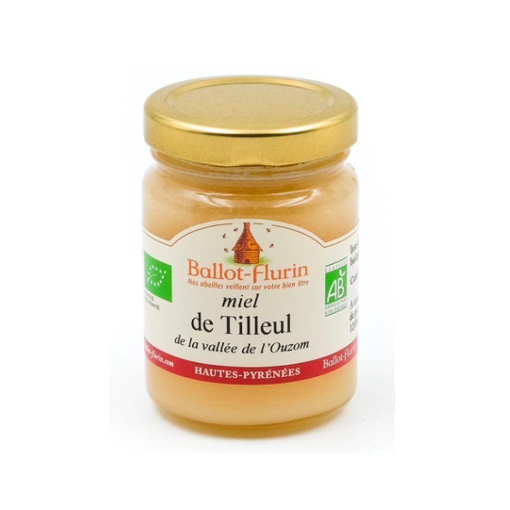 Ballot-Flurin Miel de Tilleul Bio 125g - Parfumé et fleuri, nuit paisible, digestion - Ballot-Flurin
