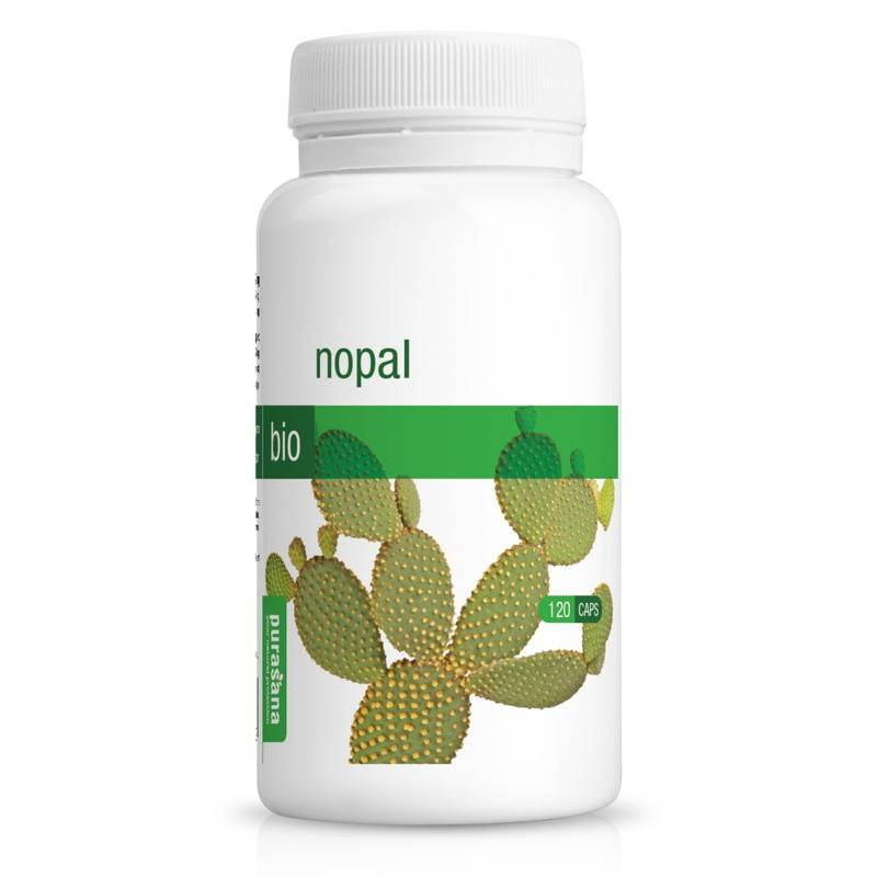 Purasana Nopal Bio - Minceur et Transit 120 gélules - Purasana