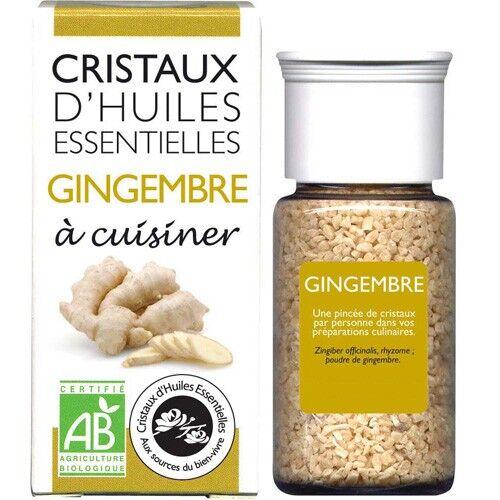 Cristaux d'huiles essentielles Gingembre - Cristaux d'huiles essentielles - 10g