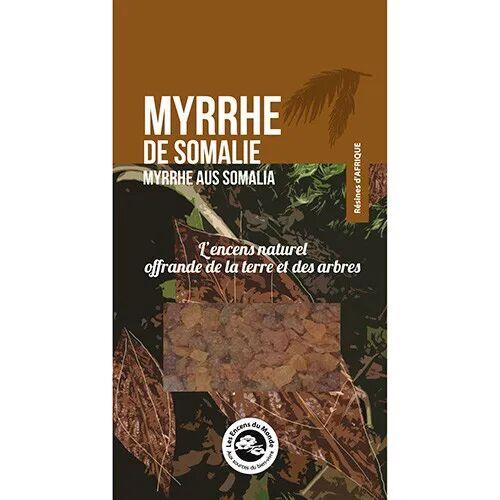 Les Encens du Monde Myrrhe de Somalie - Résine aromatique 40 g - Les Encens du Monde