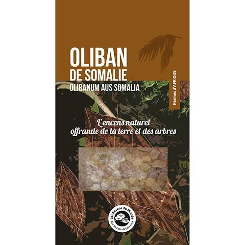 Les Encens du Monde Oliban de Somalie - Résine aromatique 40 g - Les Encens du Monde