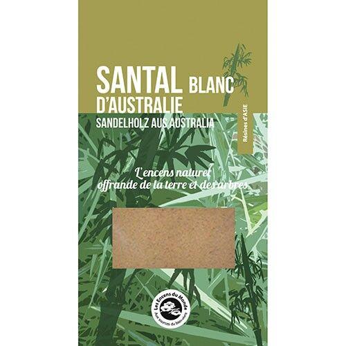 Les Encens du Monde Santal blanc d'Australie - Résine aromatique 25 g - Les Encens du Monde