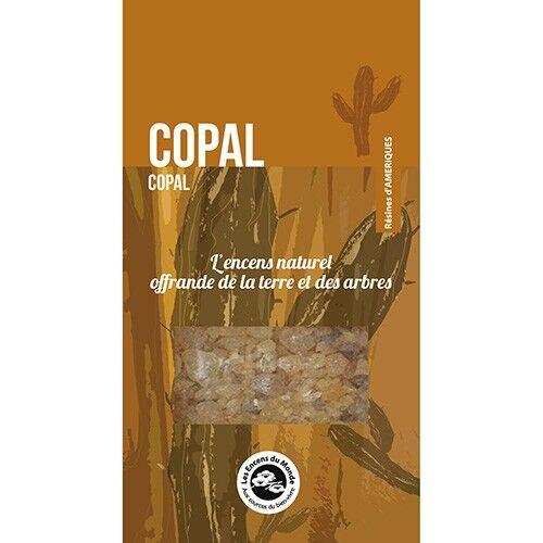 Les Encens du Monde Copal - Résine d'encens aromatique 30 g - Les Encens du Monde