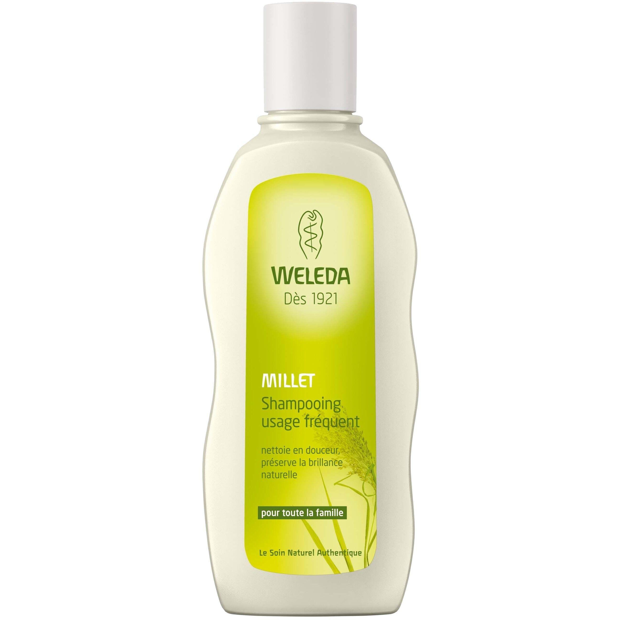 Weleda Shampoing Doux au millet - Usage fréquent 190 ml - Weleda