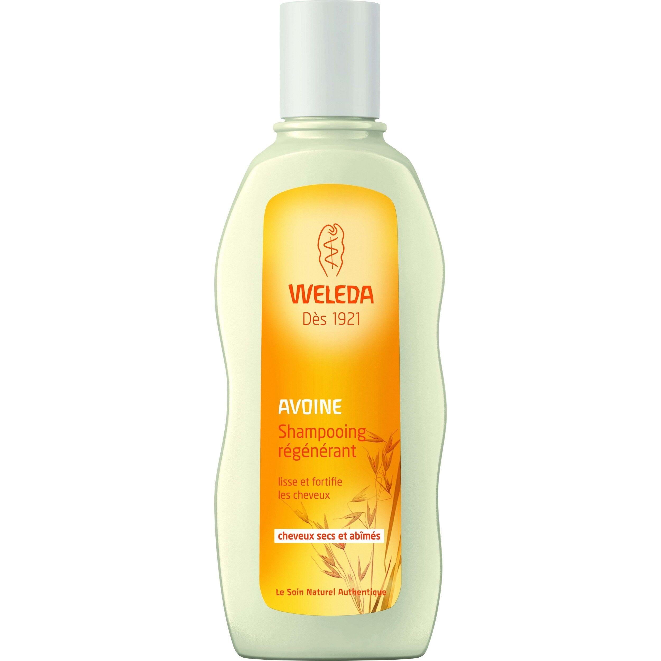 Weleda Shampoing Régénérant à l'avoine - Cheveux secs et abîmés 190 ml - Weleda