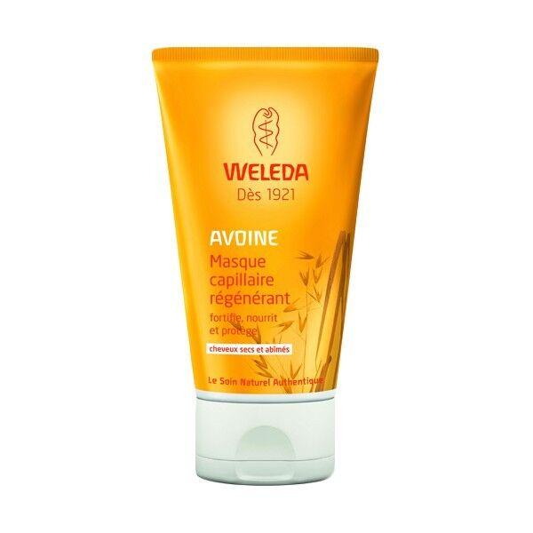 Weleda Masque Capillaire Régénérant à l'avoine - Cheveux secs et abîmés 150 ml - Weleda