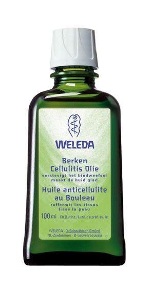 Weleda Huile Anti-cellulite au Bouleau - Raffermit et lisse 100 ml - Weleda