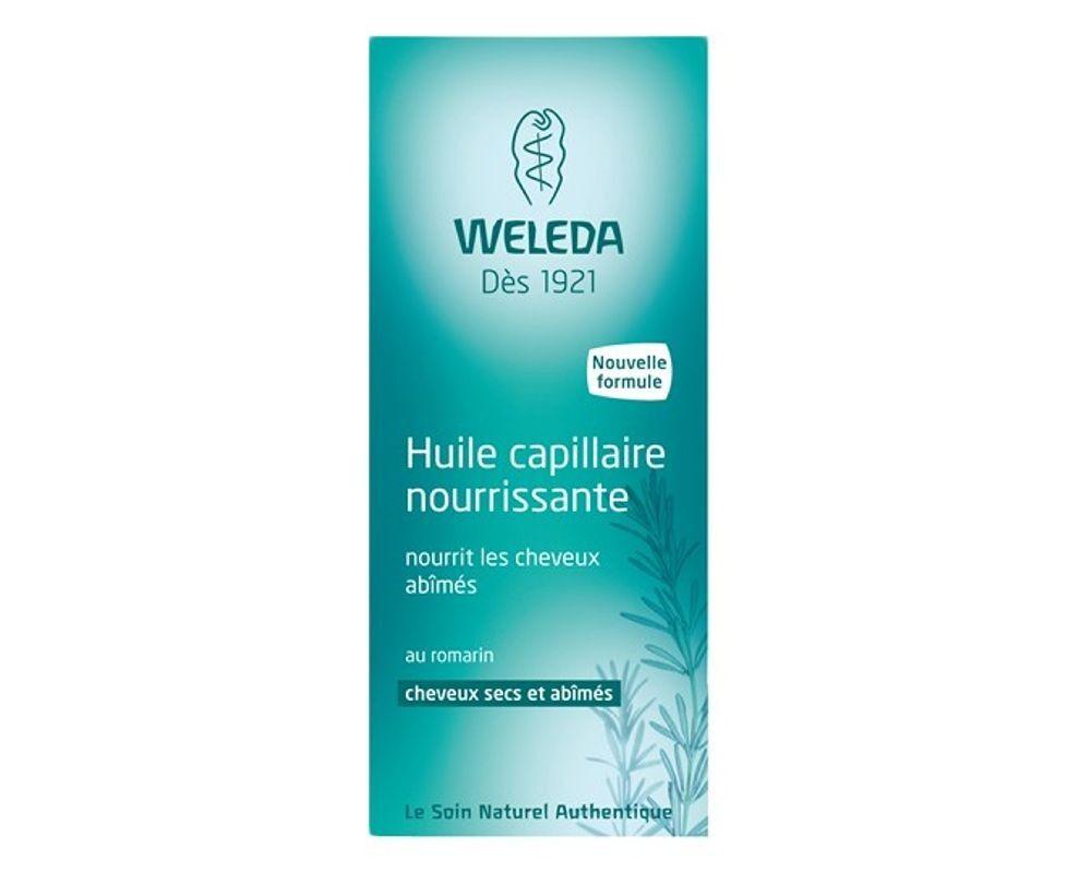 Weleda Huile Capillaire au romarin - Traitement naturel revitalisant pour les cheveux 50 ml - Weleda