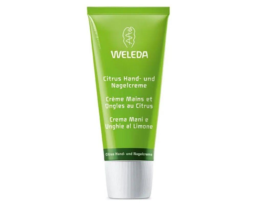 Weleda Crème ongles et mains au Citrus - Protège les ongles cassants et les mains sèches 50 ml - Weleda