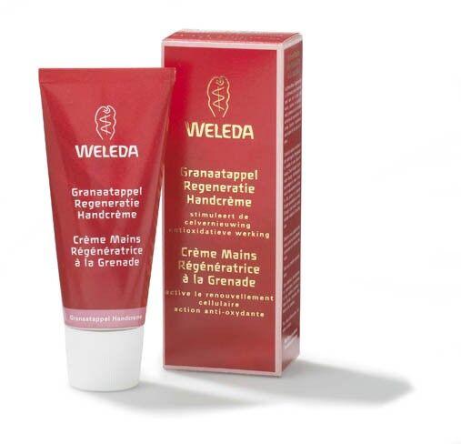 Weleda Crème mains Régénératrice à la Grenade - Active le renouvellement cellulaire 50 ml - Weleda