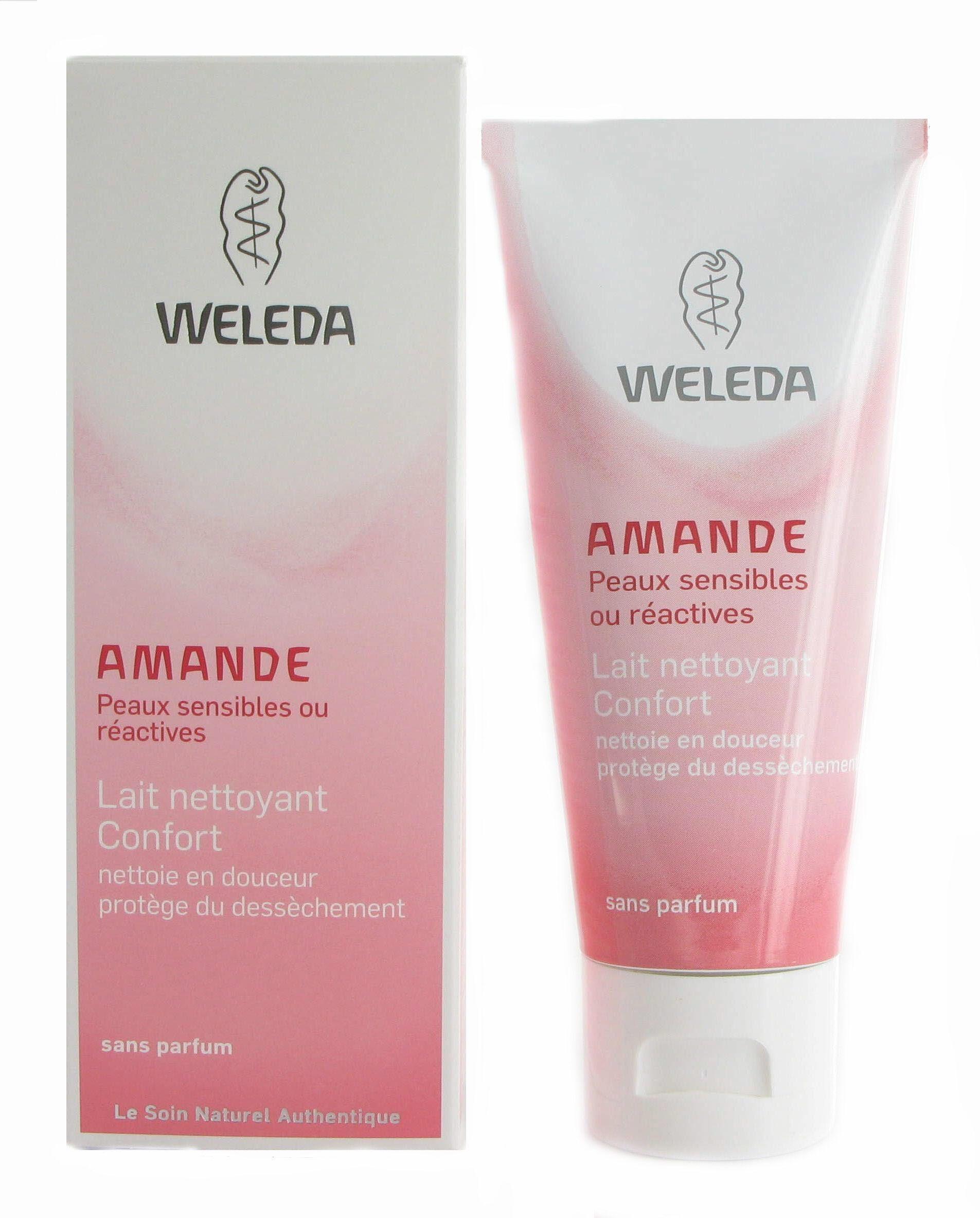 Weleda Lait nettoyant Confort à l'Amande douce - Peaux sensibles 75 ml - Weleda