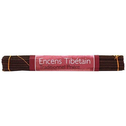 Les Encens du Monde Prière encens traditionnel tibétains - 35 bâtonnets - Les Encens du Monde