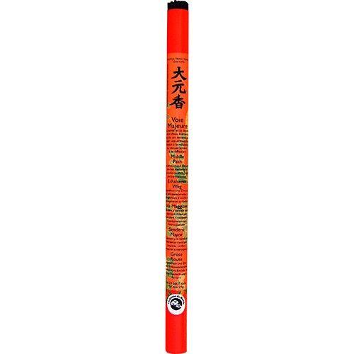 Les Encens du Monde Voie Majeure encens traditionnel Japonais - 35 bâtonnets longs - Les Encens du Monde
