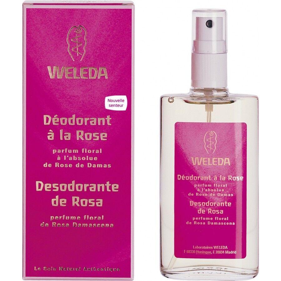 Weleda Déodorant Rose Musquée - Parfum floral 100 ml - Weleda