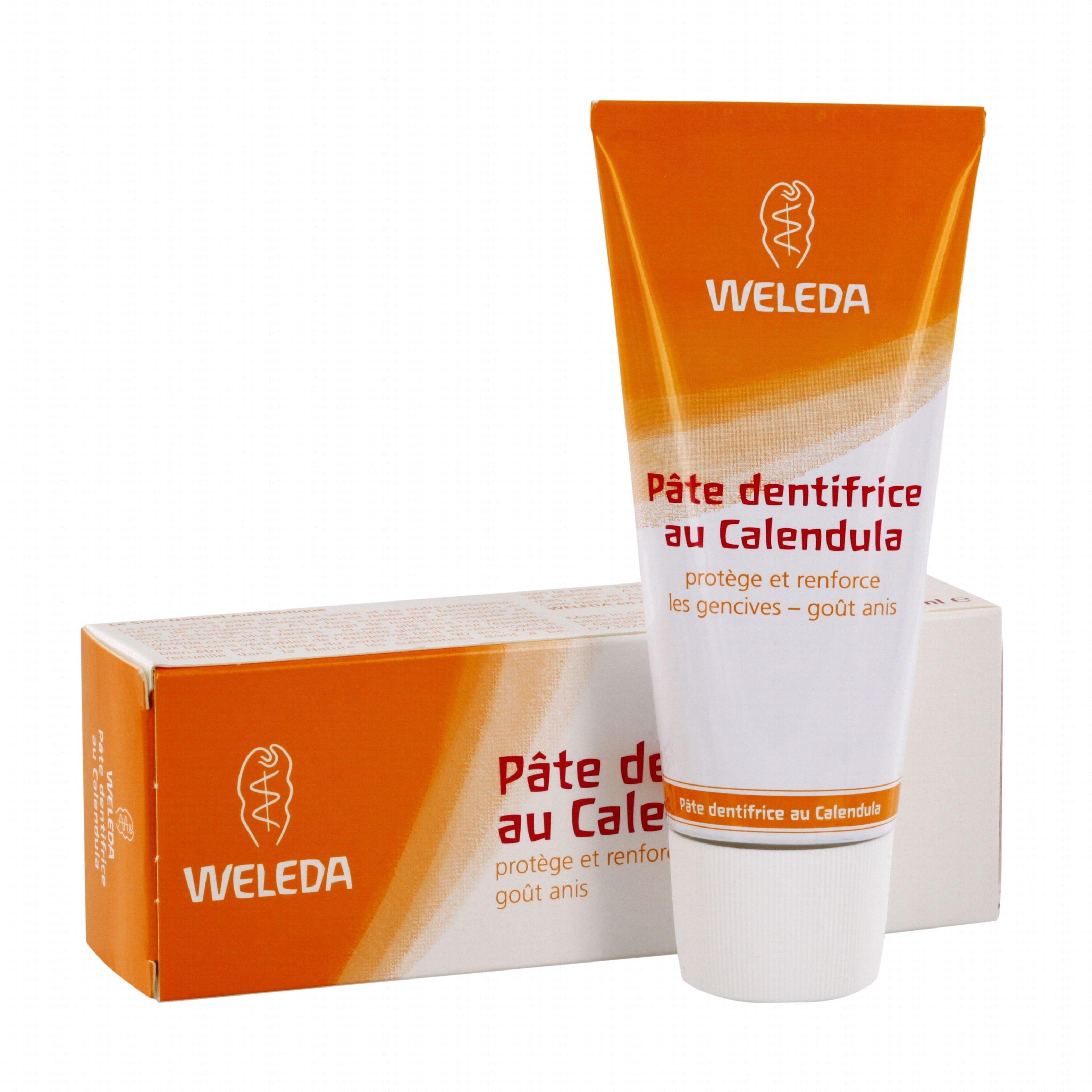 Weleda Dentifrice au Calendula - Protection naturelle contre les caries 75 ml - Weleda