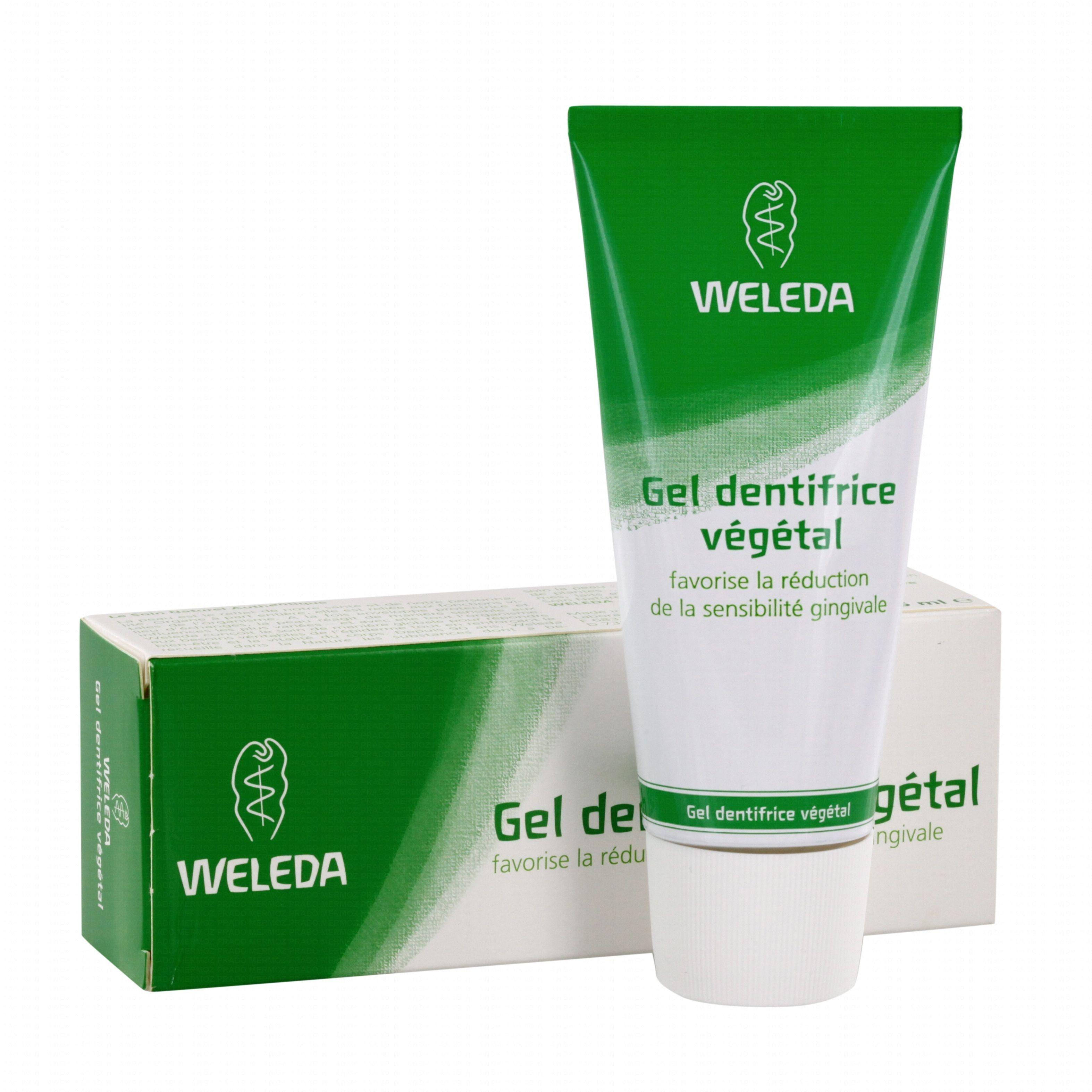 Weleda Dentifrice Végétal - Protection naturelle des gencives sensibles 75 ml - Weleda