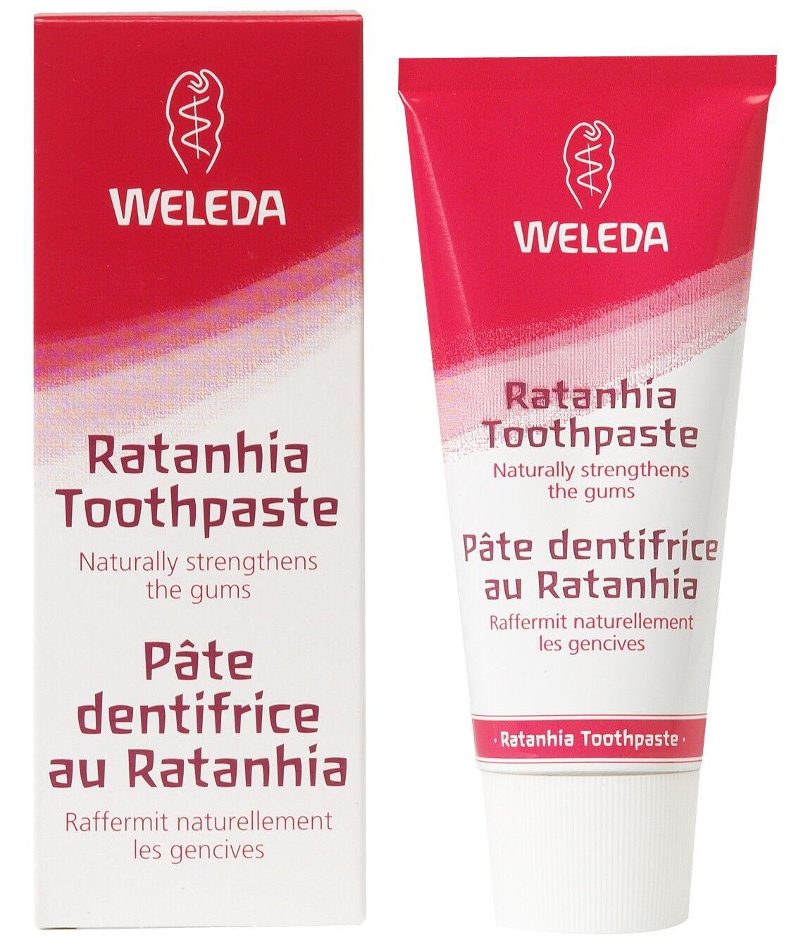 Weleda Dentifrice au Ratanhia - Renforcement naturel des gencives 75 ml - Weleda