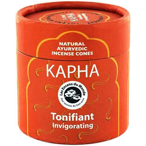 Les Encens du Monde Kapha Tonifiant - Encens Ayurvédiques 15 cônes - Les Encens du Monde