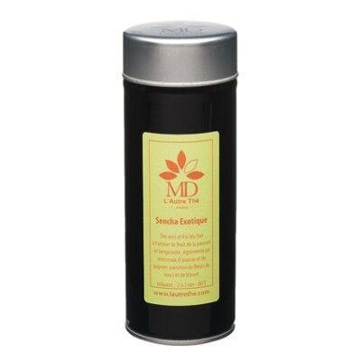 L'Autre Thé Sencha Exotique - Thé vert et blanc, bergamote et fruits de la passion boîte 100g - L'Autre thé