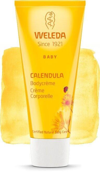 Weleda Crème corporelle au Calendula pour Bébé - Soigne et protège 75 ml - Weleda