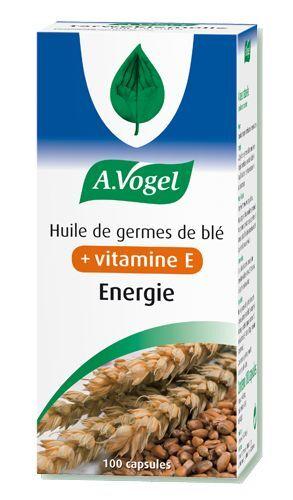 A. Vogel Huile de germe de blé - Vitamine E et protection cellulaire 100 capsules - A.Vogel