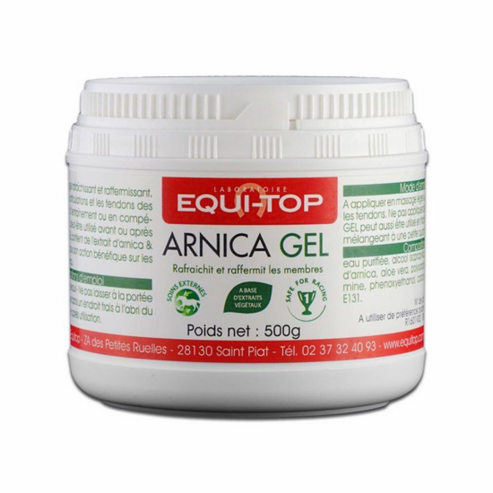 Equitop Arnica Gel - Soin de la peau des chevaux 1kg - Equi-Top