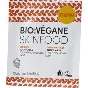 BIO:VÉGANE Soin Bio Goji Masque en tissu 16 ml
