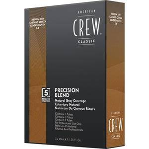 American Crew Soin des cheveux Precision Blend Colorations Marron 4-5 3 x 40 ml