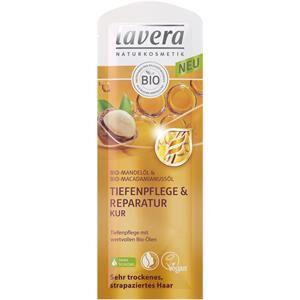 Lavera Soin des cheveux Soin Huile d'amande bio & huile de noix de macadamia Cure soin profond & reconstituant 20 ml