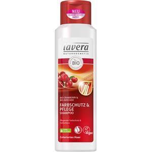 Lavera Soin des cheveux Shampoo Bio-Cranberry & Bio-Avocado Shampooing protection & soin pour couleur 250 ml