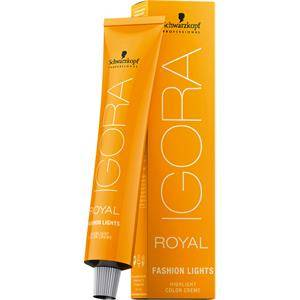 Schwarzkopf Professional Teintures Igora Royal Fashion Lights Highlight Color Creme L 22 Cendré Extra 60 ml