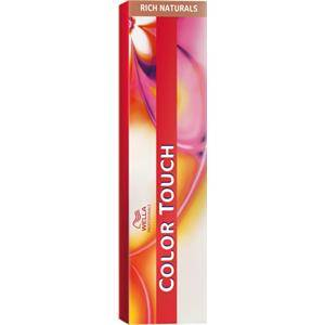 Wella Professionals Colorations Color Touch N°7/75 Blond Moyen Marron-Acajou 60 ml