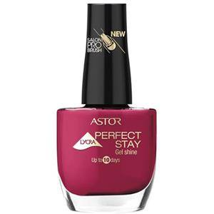 Astor Make-up Ongles Perfect Stay Gel Shine Vernis à ongles Nr. 630 Intense Bordeaux 12 ml