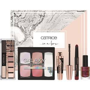 Catrice Yeux Mascara Gift set Lashes To Kill Pro Instant Volume Mascara 24h Ultra Black 010 12 ml + Essential Nude Collection Eyeshadow Palette 010 10 g + Galaxy In A Box Holographic Glow Palette 010 15 g + MATTlover Lipstick Pen 010 1,2 g + Spectra Light Effect Nail Lacquer 04 10 ml 1 Stk.