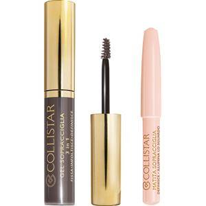 Collistar Make-up Yeux Perfect Eyebrows Kit Eyebrow Gel 3 in 1 N°2 Asia Brown + Brightening Eyebrow Pencil 1 Stk.