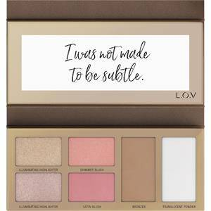 L.O.V Make-up Teint The Shape x Glow Face Palette 15,50 g