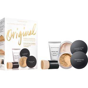 bareMinerals Maquillage pour le visage Foundation Light Original Get Started Kit Original SPF 15 Foundation Light 2 g + Original Foundation Primer 15 ml + Mineral Veil Original 3 g + Mini Beautiful Finish Brush 1 Stk.