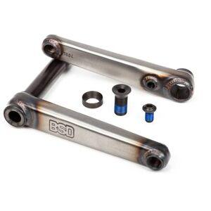 BSD Substance Freestyle Pédalier BMX (Flat Raw) - Publicité