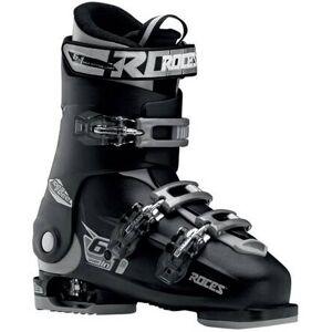Roces Chaussures Ski Roces Idea Free 6-en-1 Ajustables pour enfants (Noir/Argent) - Publicité