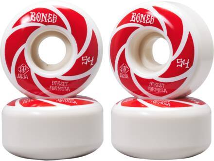 Bones Roues Skate Bones STF V1 Standard Pack de 4 (54mm - Patterns 103a)