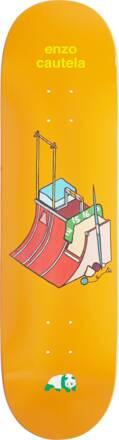 Enjoi Skateboard Deck Enjoi Go For The Gold (Enzo Cautela)