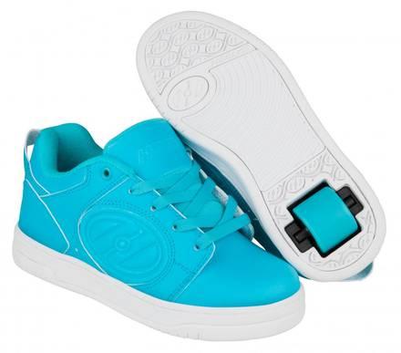 Heelys Chaussures à Roulettes Heelys Voyager Glow In The Foncé (Cyan G.i.d)