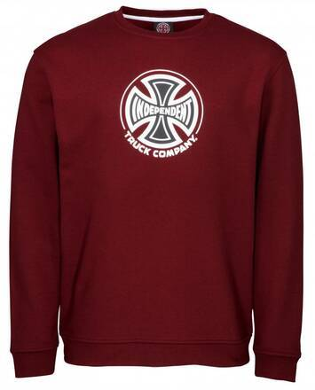 Independent Truck Co. Crewneck (Burgundy)