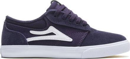 Lakai Kids Skate Shoes Lakai Griffin (Purple Suede)