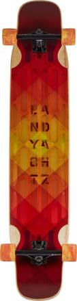 Landyachtz Longboard Complet Landyachtz Hollowtech Stratus Super Flex (Rouge)