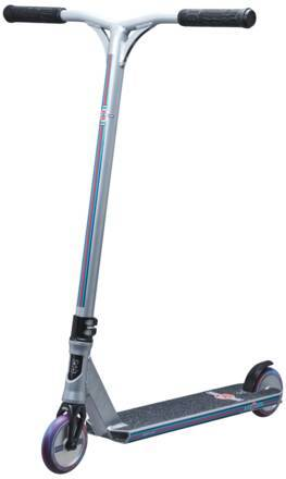 Lucky Trottinette Freestyle Lucky Cody Flom Signature (Argent/Bleu/Rouge)